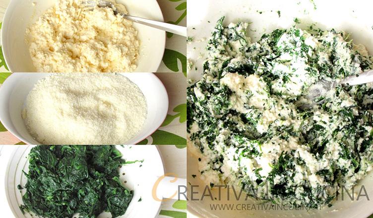 Knell gustose, ricotta e spinaci Creativaincucina