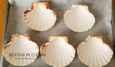 Conchiglie con funghi e scampi ricetta di Creativa in cucina