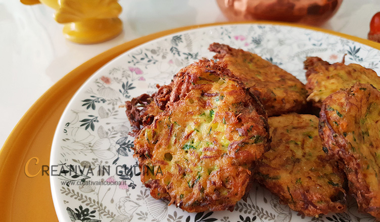 Crocchette di zucchine ricetta di Creativa in cucina