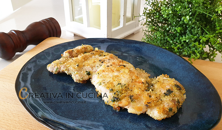 Sovracosce di pollo con impanatura speziata ricetta di Creativa in cucina