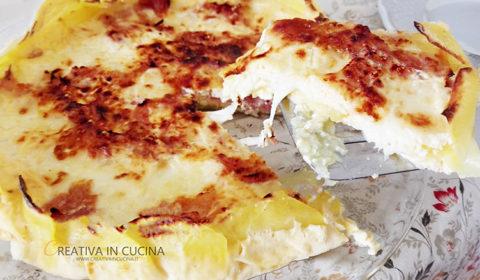 Gratin di patate e prosciutto ricetta di Creativaincucina