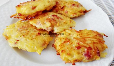 Rösti di patate e pancetta