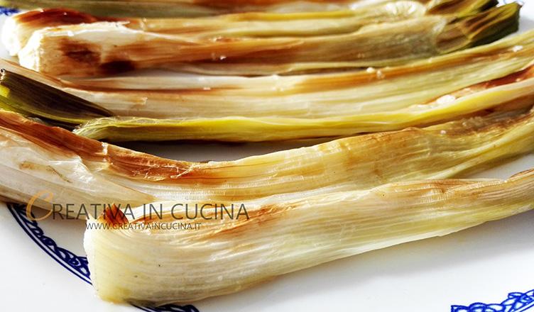 Cipolle sponsali ( porraie ) al forno ricetta di Creativaincucina