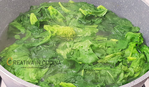Orecchiette alle cime di rapa ricetta di Creativa in cucina