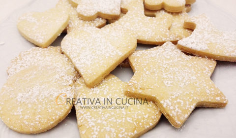 Biscotti di San Valentino al burro, classici, cacao e caffè ricetta di Creativaincucina