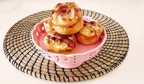 Crostatine di mela, ricetta facile