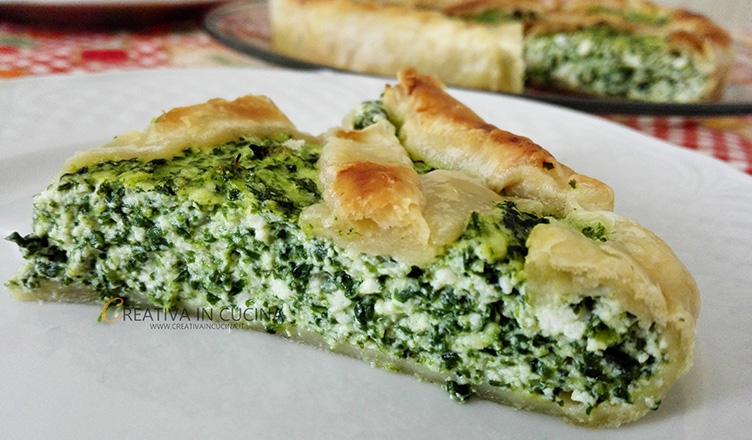 Quiche verde in love ricetta di Creativaincucina