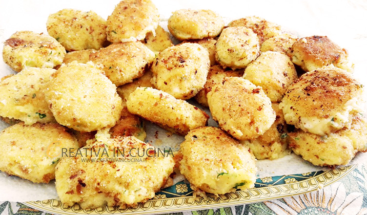 Frittelle di gamberetti e patate ricetta di Creativaincucina