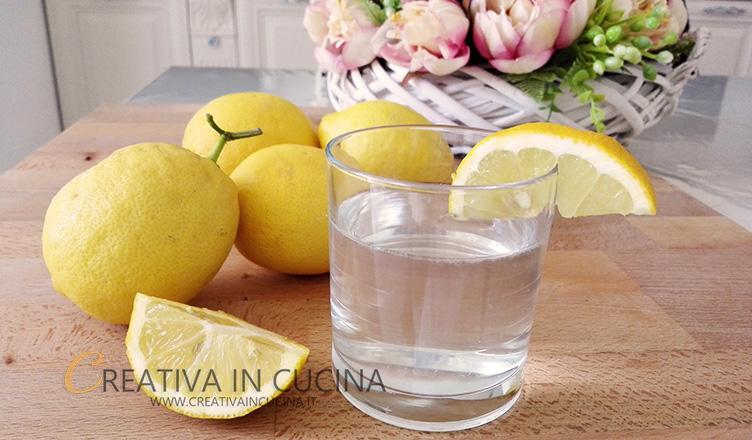Limonata fatta in casa Creativaincucina
