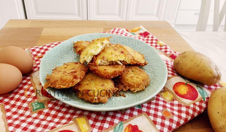 Crocchette di patate e pancetta ricetta di Creativaincucina