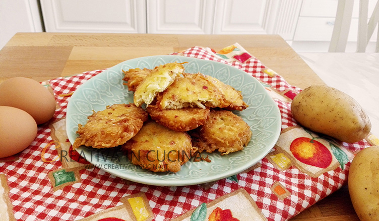 Crocchette di patate e pancetta