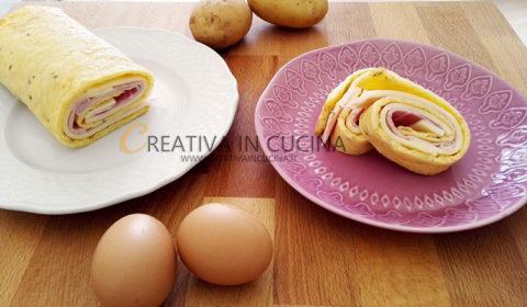 Rotolo di patate ricetta di Creativaincucina
