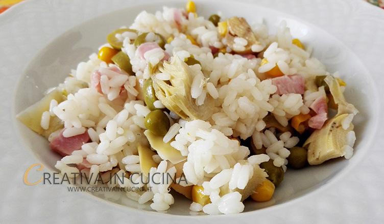 Insalata di riso ricetta di Creativaincucina