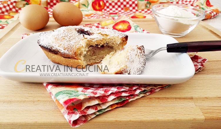Pasticciotto leccese crema e amarena ricetta di Creativaincucina