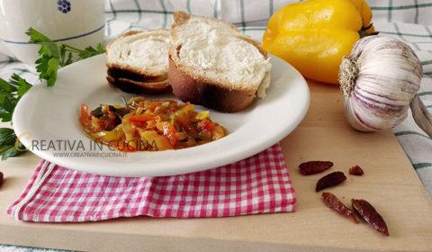 Peperoni al forno ricetta di Creativaincucina