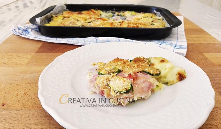 Sformato zucchine e patate ricetta di Creativaincucina