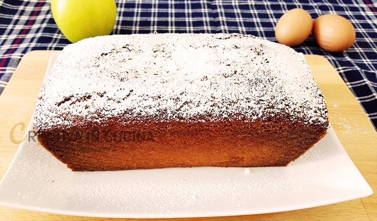 Plumcake alle mele ricetta di Creativaincucina