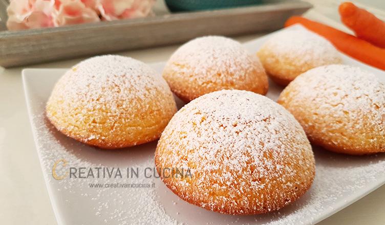 Le camille tortine di carote ricetta di Creativaincucina