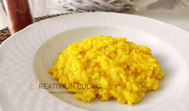 Risotto alla milanese ricetta di Creativaincucina