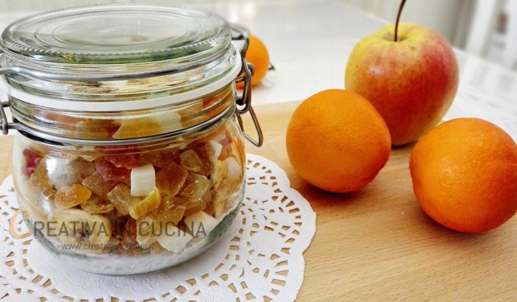 Frutta disidratata ricetta di Creativaincucina