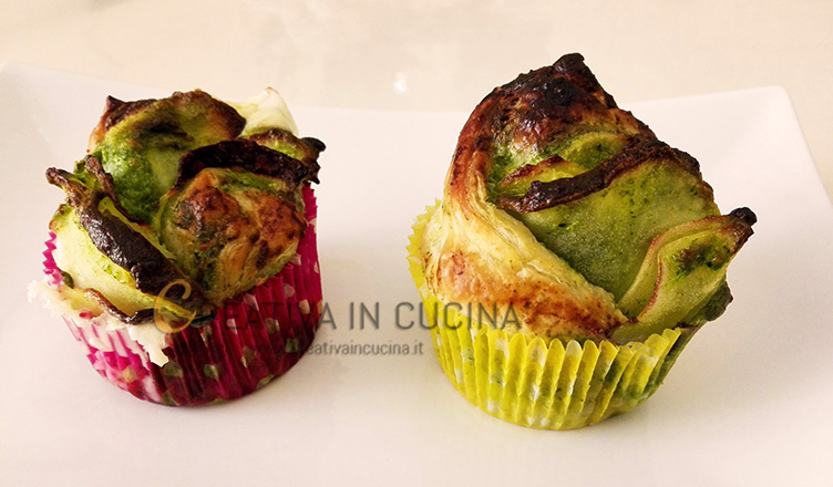 Rose di patate e spinaci ricetta di Creativaincucina