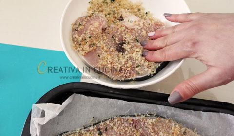 Smeriglio gratinato ricetta di Creativaincucina