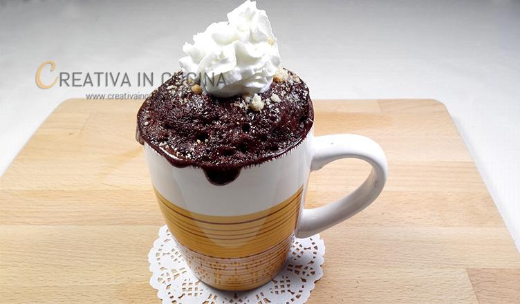 Mug cake senza glutine ricetta di Creativaincucina