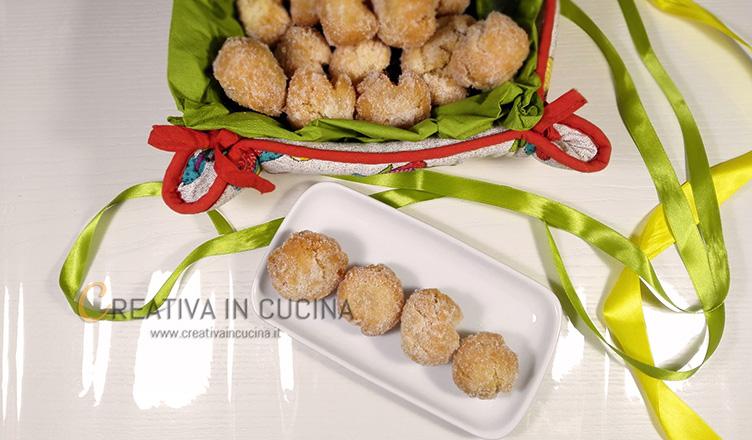 Castagnole di carnevale ricetta di Creativaincucina