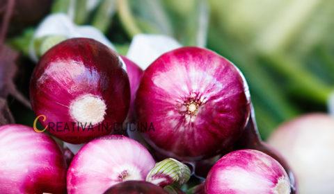 Cipolla rossa proprietà e benefici