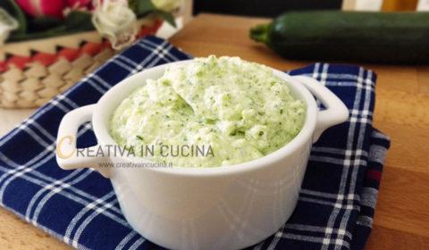 Penne con crema di zucchine e formaggio ricetta di Creativa in cucina