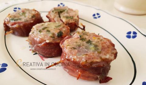 Girelle di carne e formaggio