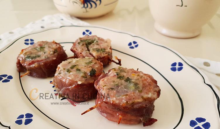 Girelle di carne e formaggio - ricetta di Creativaincucina