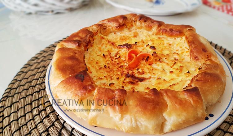 Torta salata di carote ricetta di Creativaincucina