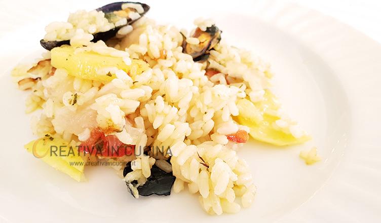 Tiella di riso patate e cozze alla barese ricetta di Creativaincucina
