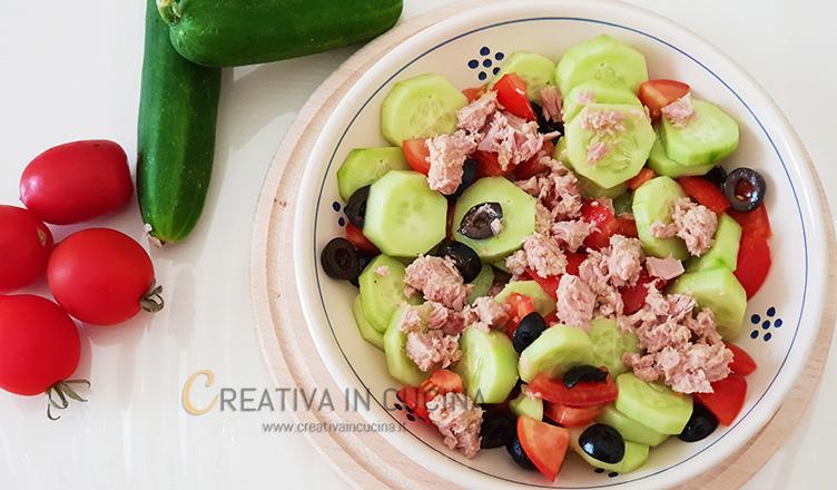 insalata speedy e light ricetta di Creativaincucina