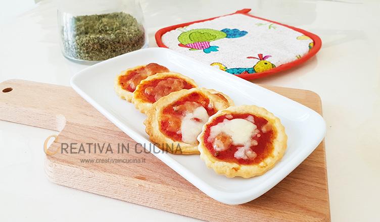 Pizzette di pasta brisèe ricetta facile e veloce ricetta di Creativaincucina