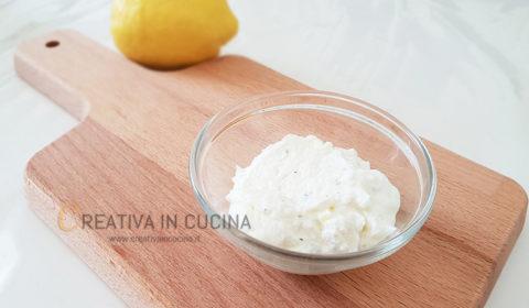 Crema di robiola e mascarpone, speziata