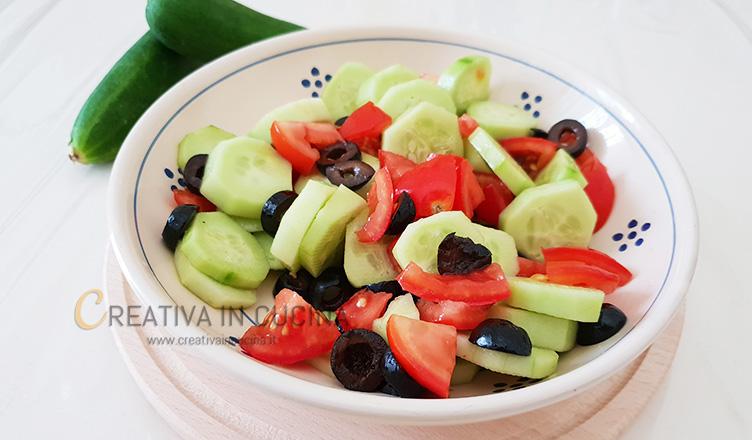 Insalata vegana ricetta di Creativaincucina