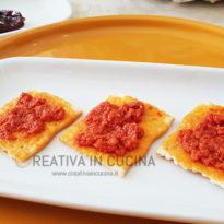 pesto di pomodori secchi - cracker creativaincucina