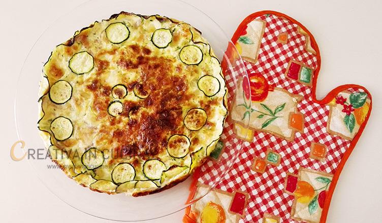 Gratin di zucchine e prosciutto ricetta di Creativa in cucina