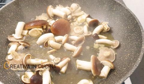 Linguine ai funghi pioppini ricetta di Creativa in cucina