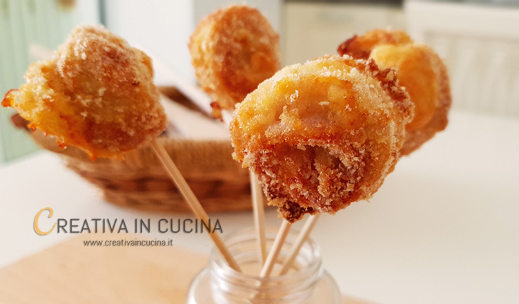 Lollipop di pollo ricetta di Creativa in cucina