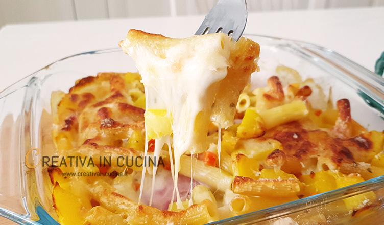 Pasta e patate gratinata al forno ricetta di Creativa in cucina