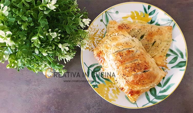 Fagottini di cime di rapa ricetta di Creativa in cucina