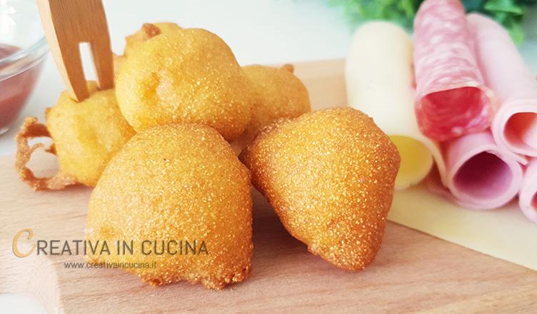 Frittelle di polenta speziate ricetta di Creativa in cucina