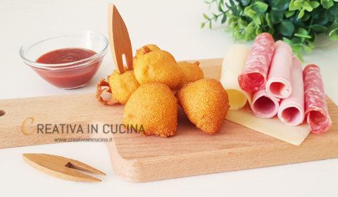 Frittelle di polenta speziate