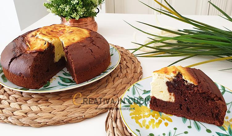 Torta cacao e ricotta ricetta di Creativa in cucina