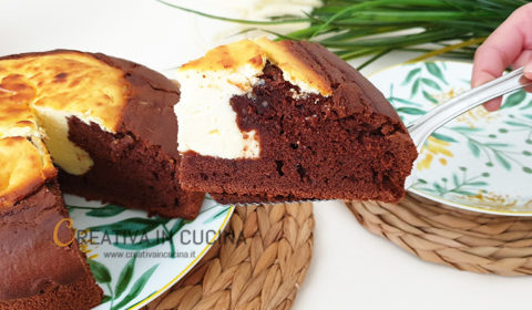 Torta cacao e ricotta, ricetta veloce