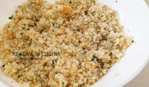Trancio di salmone gratinato ricetta di Creativa in cucina