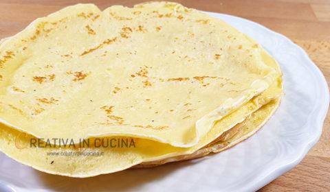 Crespelle al formaggio ricetta base